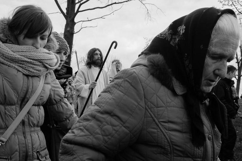 Kalwaria Zebrzydowska   droga krzyżowa i wielki tydzień 2014